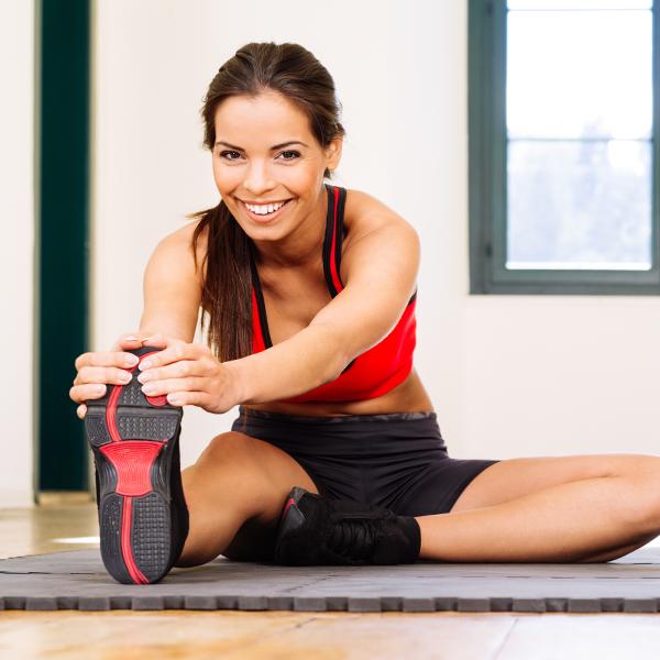 3 esercizi di stretching