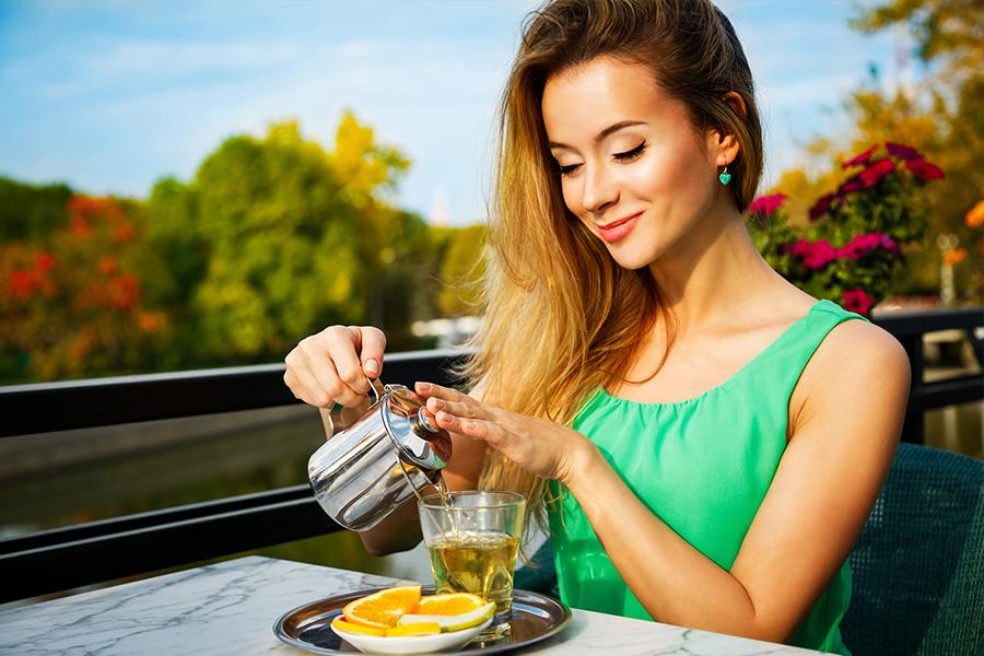 Bere tè verde: benefici
