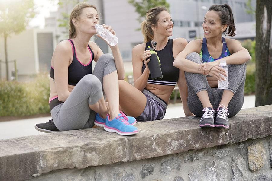 3 donne di 40 anni scambiano consigli sulla corsa