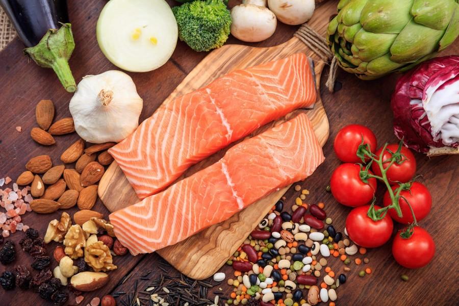 pesce e legumi