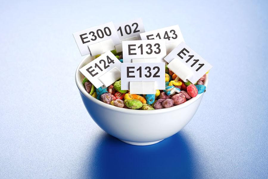 scovare gli additivi in un'etichetta alimentare
