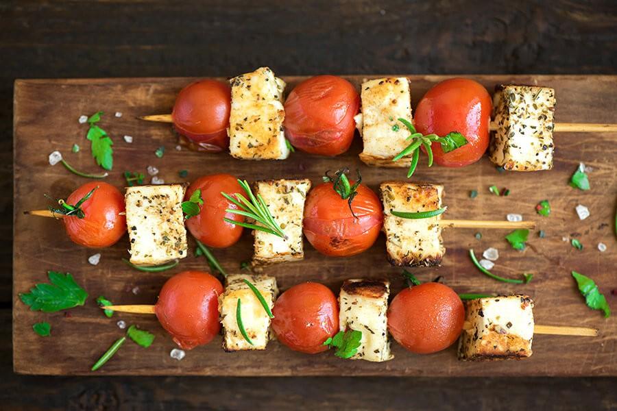 Spiedini di tofu