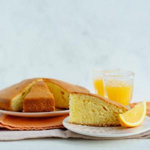 Ricetta torta all'arancia light