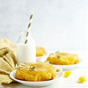 2 tortine zenzero e ananas